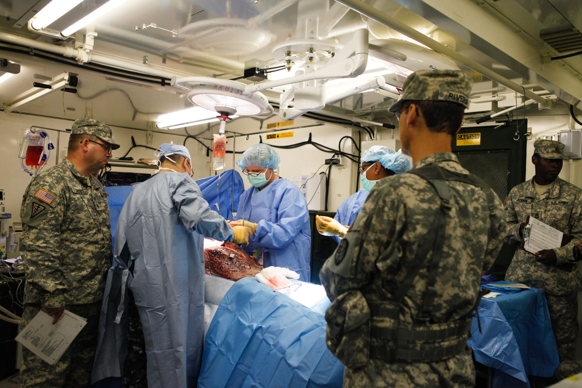 Fort Defiance Industries LLC Serves Military Field Hospitals