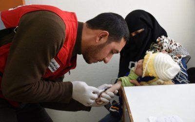 QFFD & QRCS launch field hospital in Al Anbar