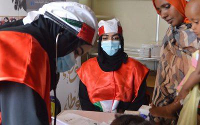 Sheikha Fatima Global Humanitarian Campaign launches mobile clinics, field hospital for women, children in Sudan