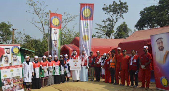 UAE field hospital treating thousands of Rohingya refugees in Bangladesh