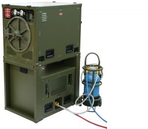 Ruggedized Designed Sterile Water Solutions