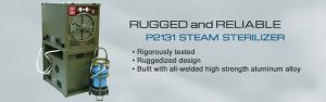 P2131 Steam Sterilizer - Ruggedized Design