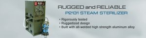 P2131 Steam Sterilizer - Ruggedized Medical Equipment