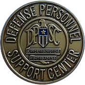 Defense Personnel Support Center Badge